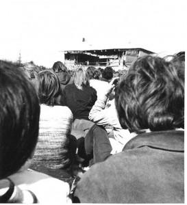 Jimi Hendrix auf dem Fehmarn Festival 1970
