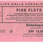 """Pink Floyd, 197"""", dUESSELDORF"""