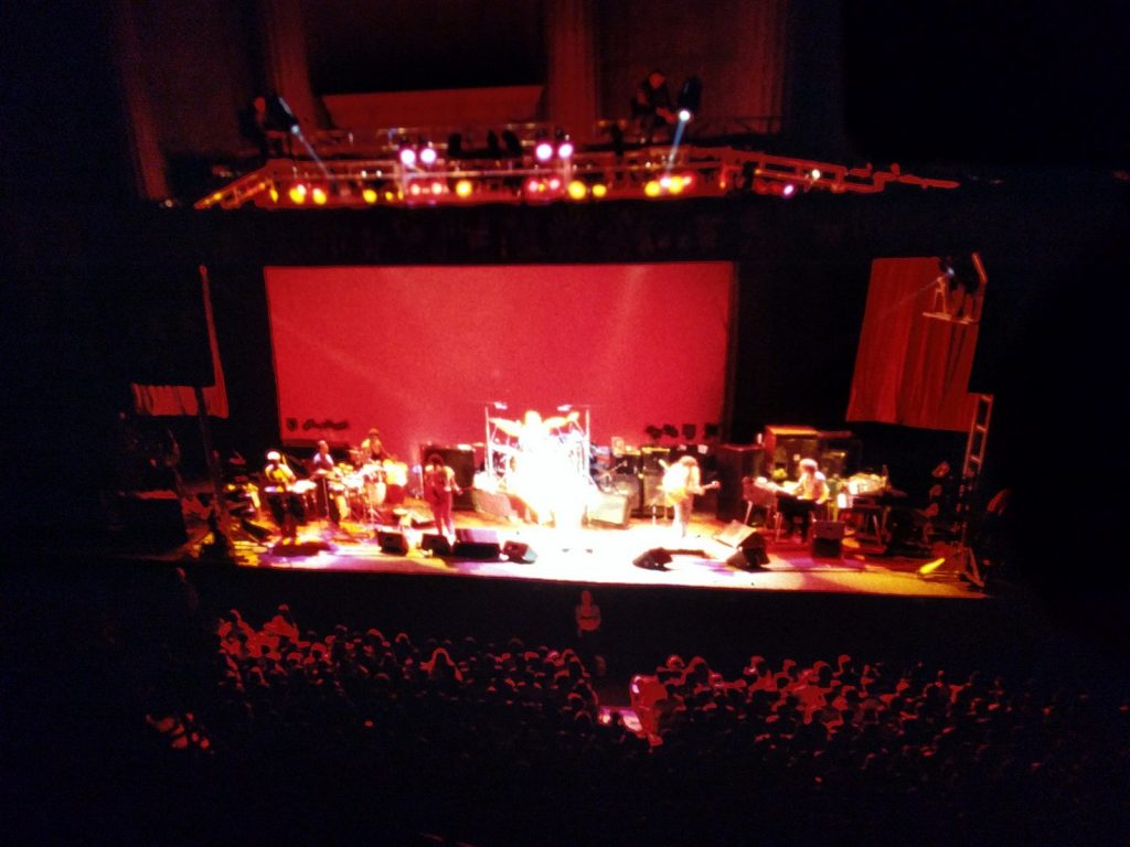 Santana Greek Theatre Berkeley