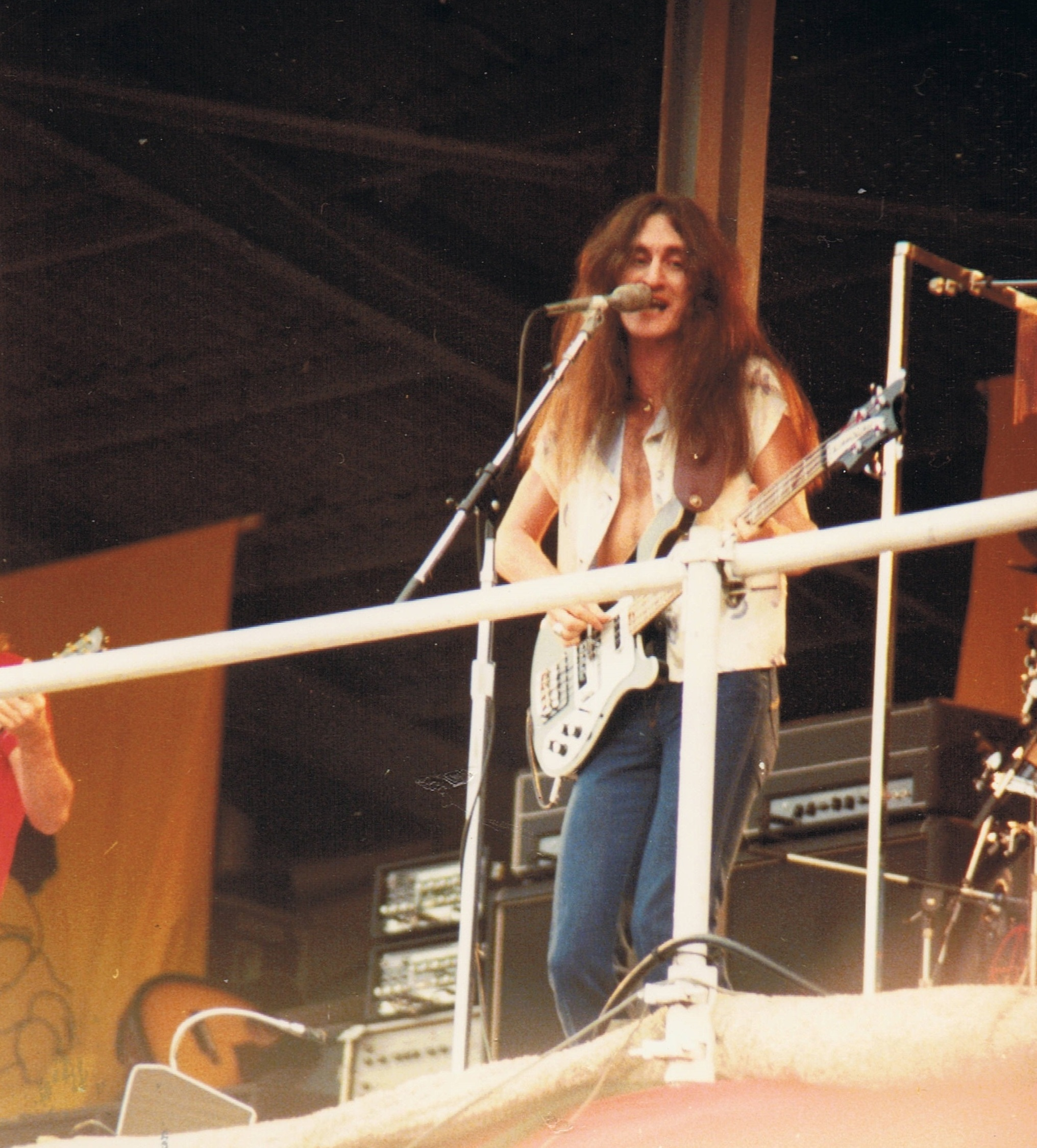 Geddy Lee, Rush, Pink Pop, 04.06.1979