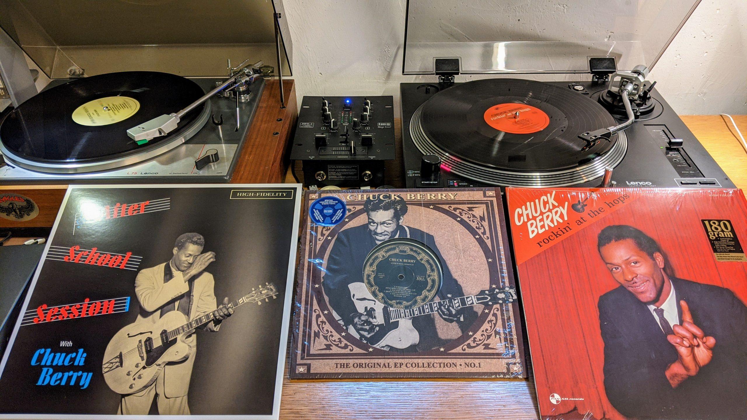 Chuck Berry auf Vinyl